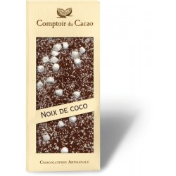 Tablette gourmande de chocolat - LAIT- COCO