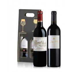 Box 2 Vins Rouge Bordeaux/ Gaillac  75cl